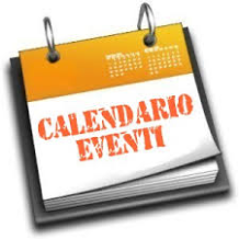 cartello calendario eventi